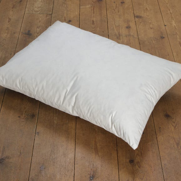 Duck Feather Cushion Pad White undefined