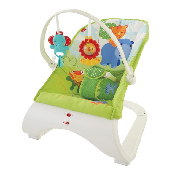 Fisher Price Rainforest Bouncer Green