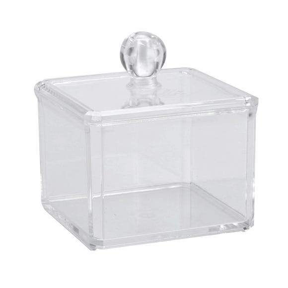 Cosmetic Storage Pot Clear