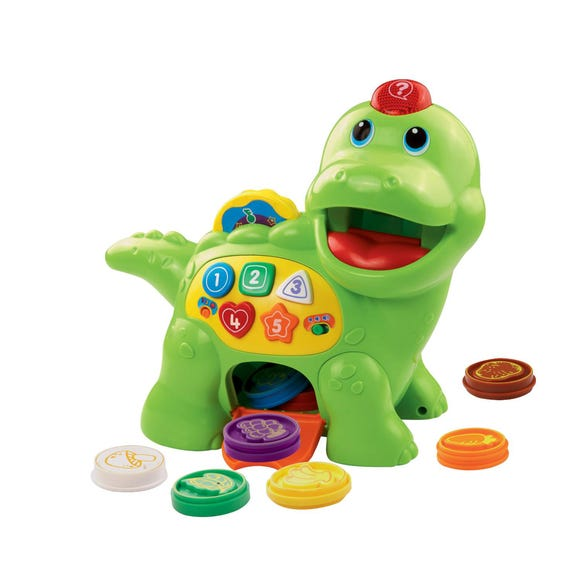 Vtech Feed Me Dino MultiColoured