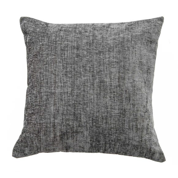 Chenille Cushion Charcoal undefined