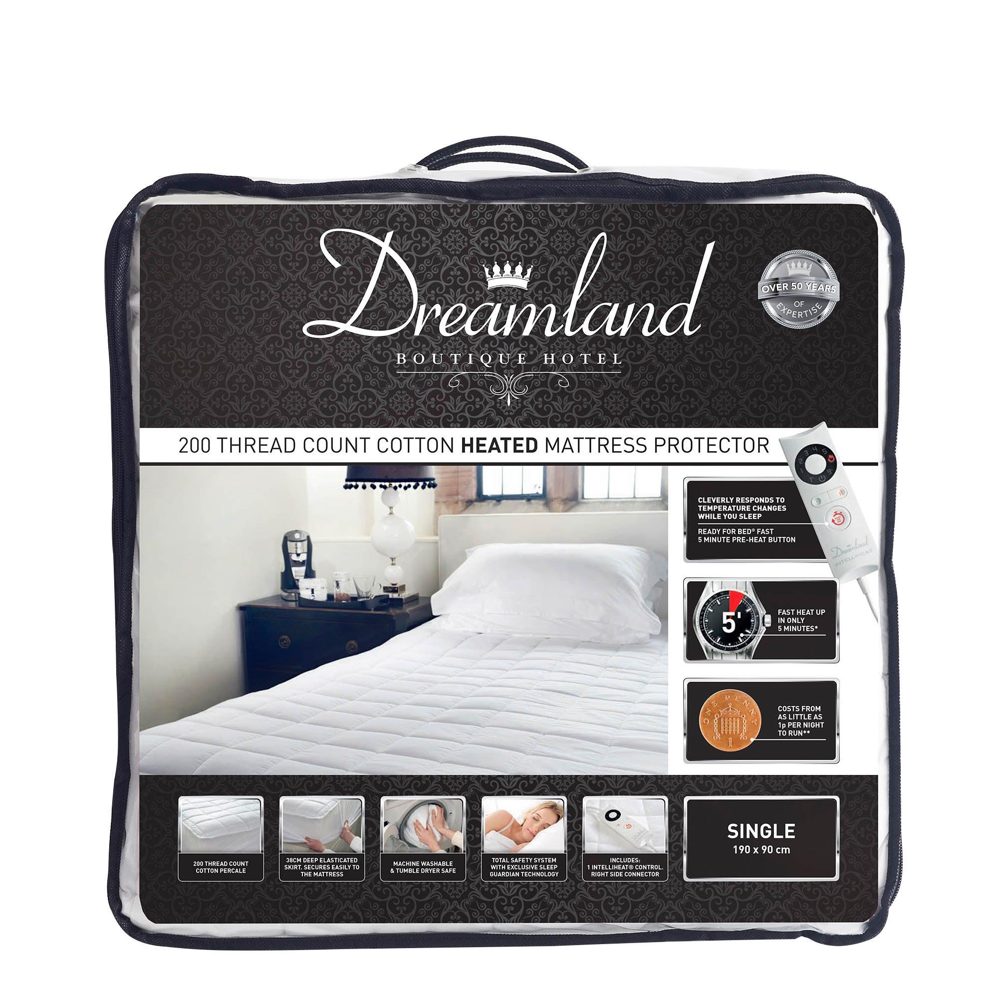 Dreamland Boutique Hotel Cotton Mattress Protector