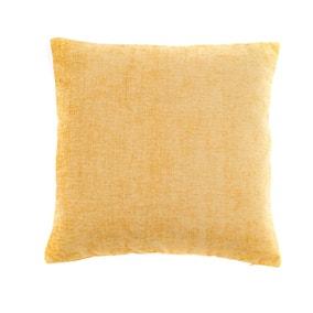 Chenille Ochre Cushion