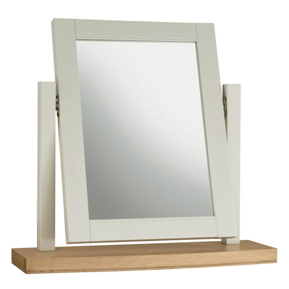 Eaton Soft Grey Vanity Mirror Grey