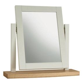 Eaton Soft Grey Vanity Mirror