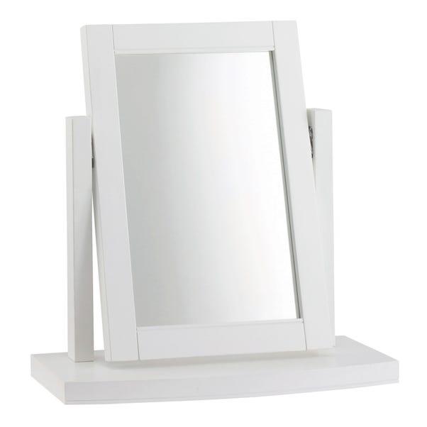 Eaton White Vanity Mirror White