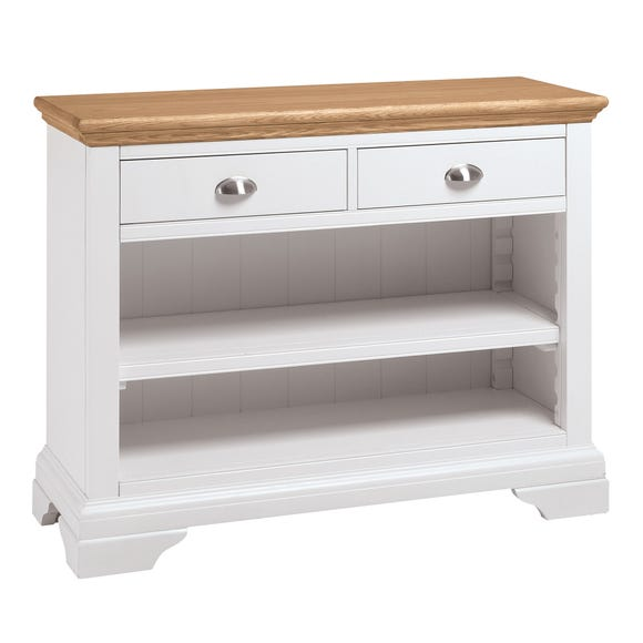 Eaton Two Tone Console Table Ivory