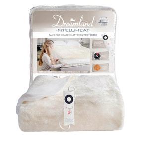 Dreamland Faux Fur Heated Mattress Cover