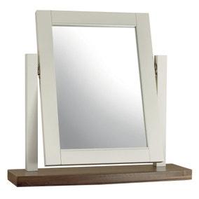 Eaton Walnut Vanity Mirror
