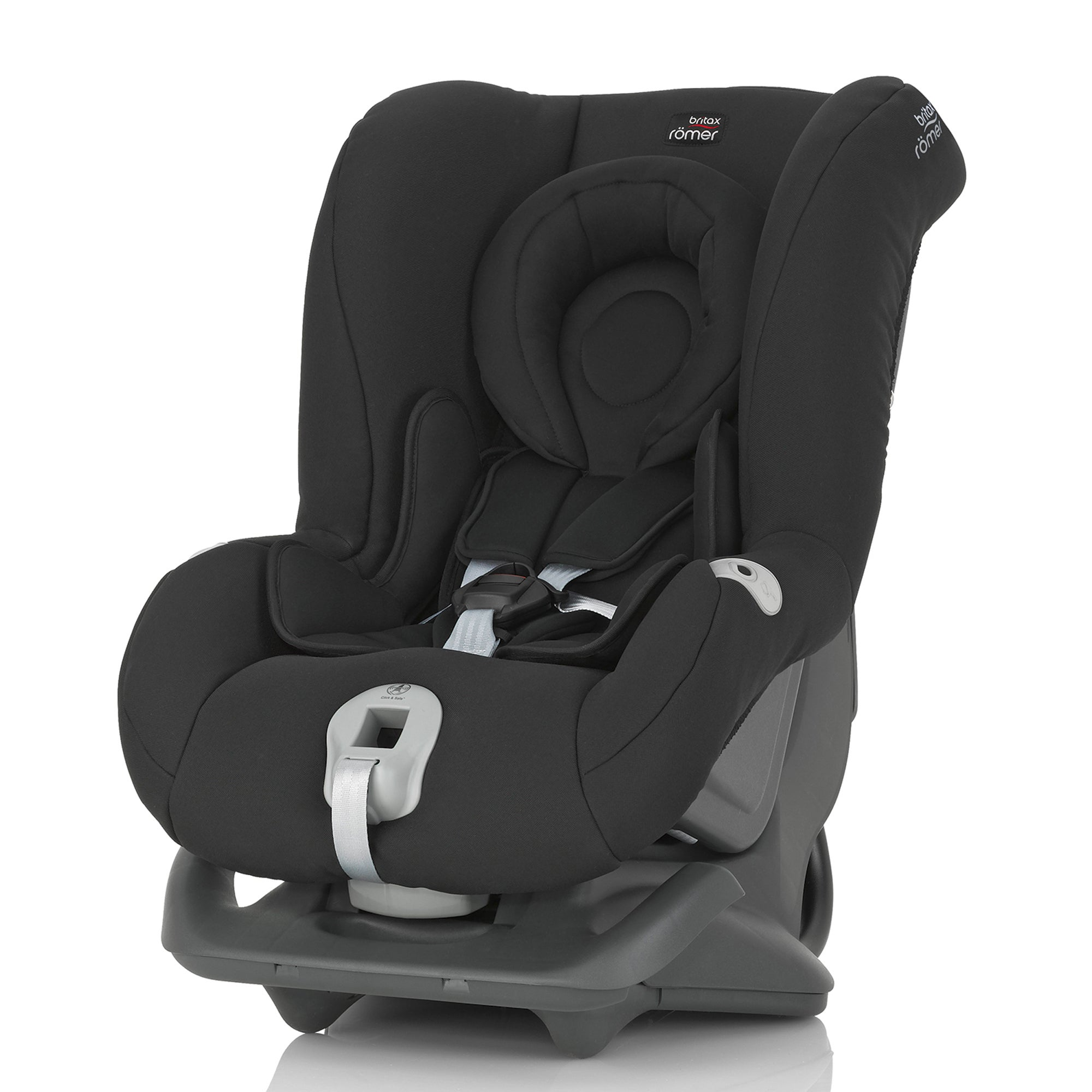 Photo of Britax romer first class plus group 0+ & 1 cosmos black car seat black
