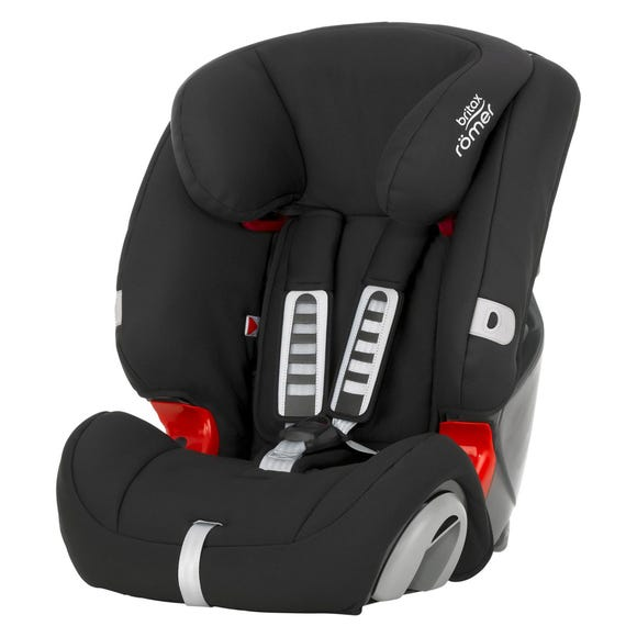 Britax Romer EVOLVA Group 1-2-3 Cosmos Black Car Seat Black