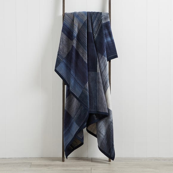 Thermosoft Navy 150cm x 200cm Blanket