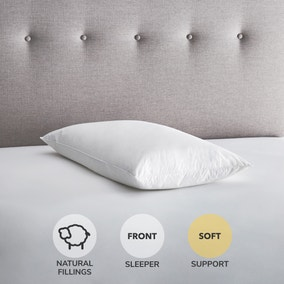 Fogarty Duck Feather and Down Soft-Support Pillow Pair