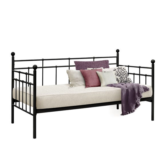 Lyon Black Day Bed  undefined