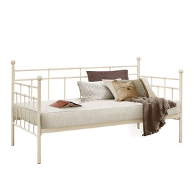Lyon Cream Day Bed with Trundle