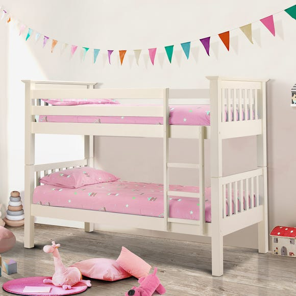 Barcelona Bunk Bed White undefined