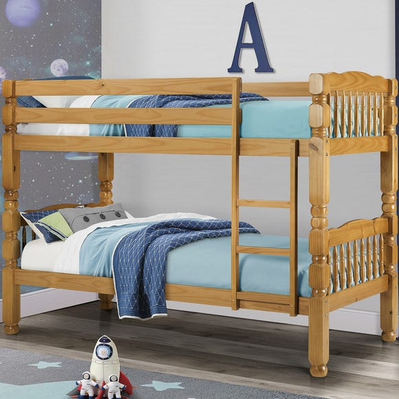 Chunky Bunk Bed Brown undefined