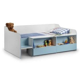 Stella Blue Low Sleeper Bedstead