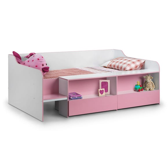 Stella Pink Low Sleeper Bed  undefined