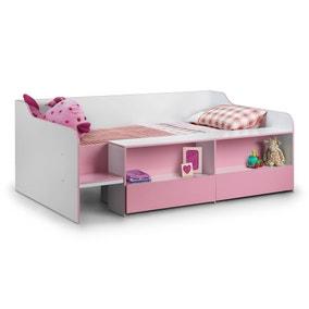 Stella Pink Low Sleeper Bed