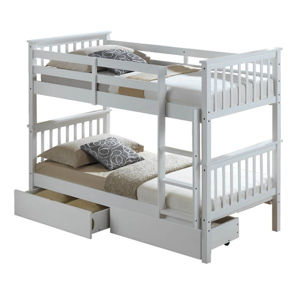 Artisan White Bunk Bed  undefined