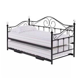 Florence Black Trundle Under Bed