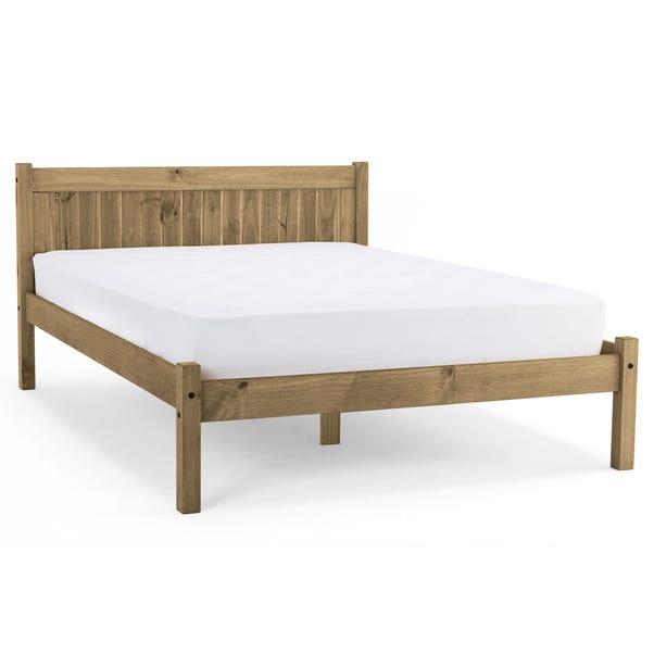 Maya Single Bedstead Wood (Brown) undefined