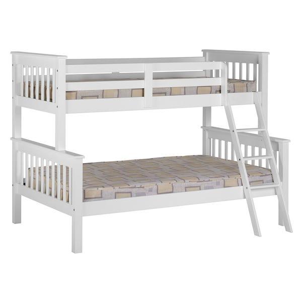 Neptune White Triple Sleeper Bunk Bed  undefined