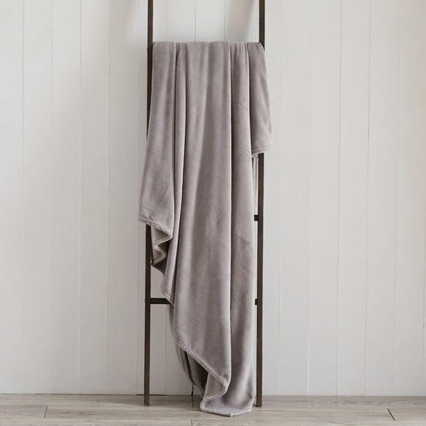 Seriously Soft 180cm x 230cm Throw Seriously Soft Grey