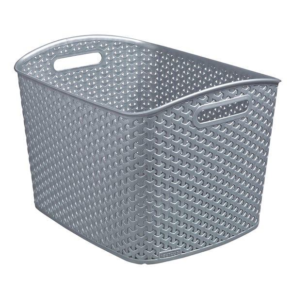 Curver 28L Grey Basket