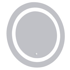 Birchwood Illuminated Round Mirror