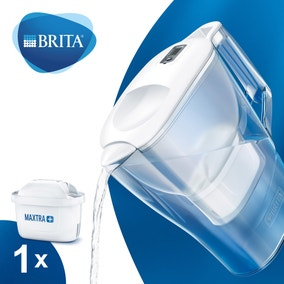 Brita Aluna MAXTRA+ Cool White Water Filter Jug