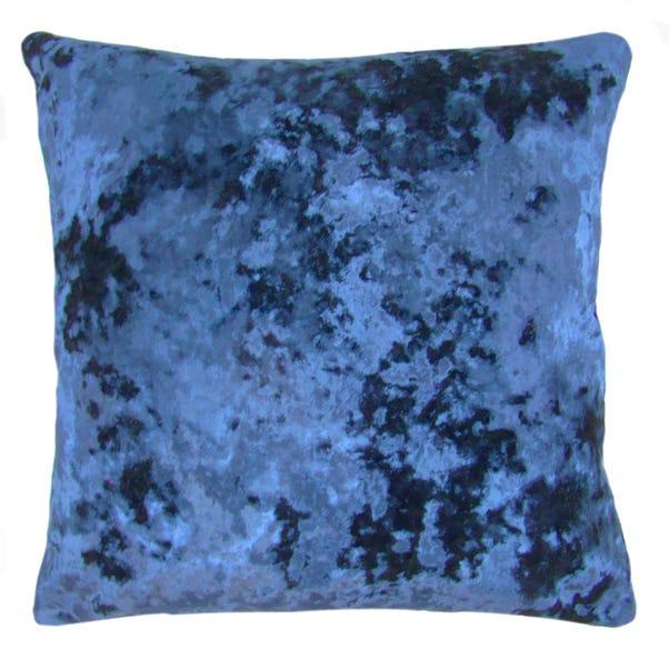 Velvet Merlin Cushion Cover Navy undefined