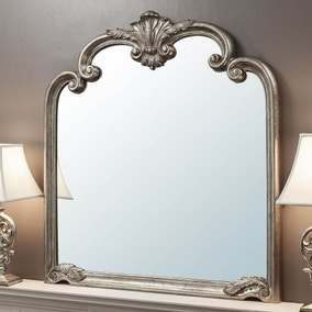 Palazzo 115x104cm Over Mantle Mirror