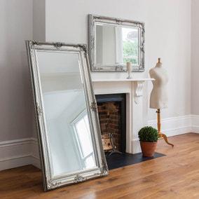 Harrow Silver 172x85cm Leaner Mirror