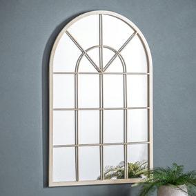 Kelford Cream 90x60cm Wall Mirror