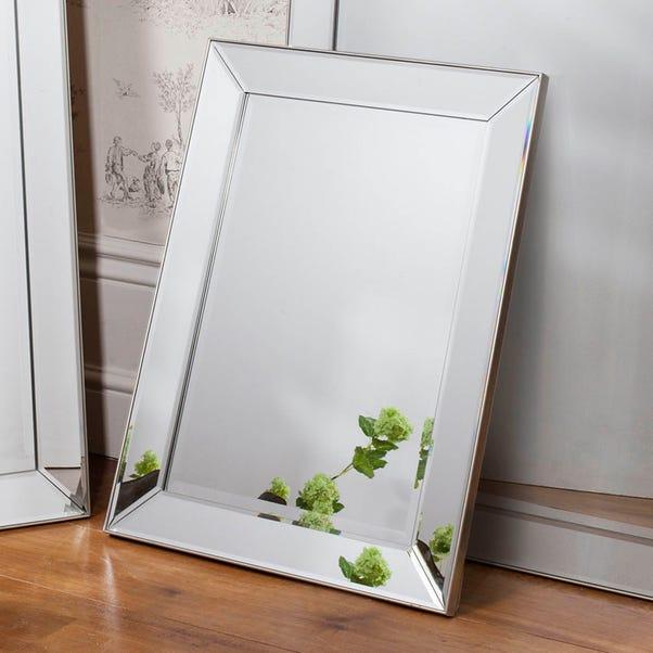Baskin 80x60cm Wall Mirror Clear