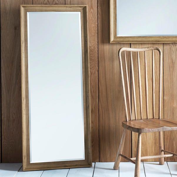 Fraser Oak 153x65cm Leaner Mirror Natural