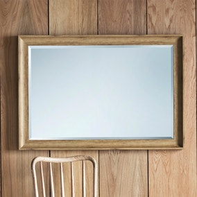 Fraser Oak 74x104cm Wall Mirror