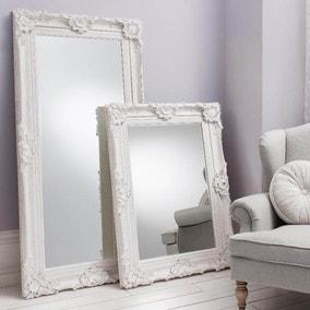 Stretton Cream 177x88cm Leaner Mirror