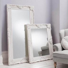 Stretton Cream 118x88cm Wall Mirror