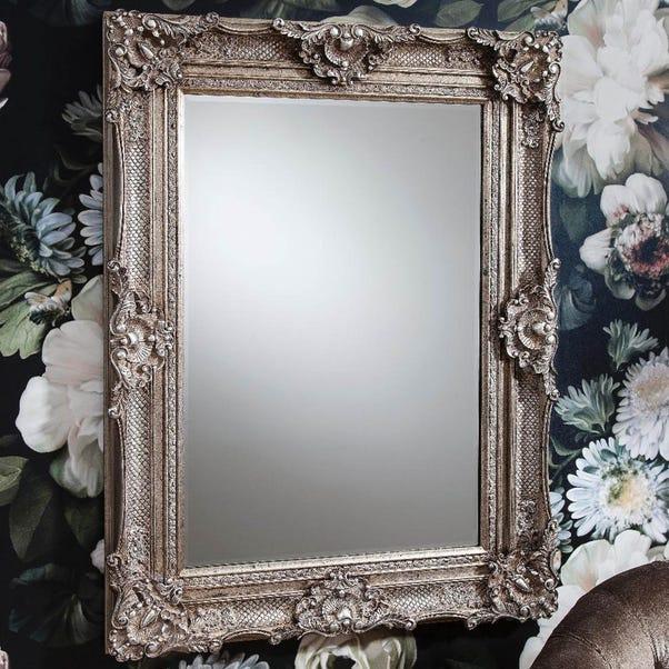 Stretton Silver 118x88cm Wall Mirror Silver