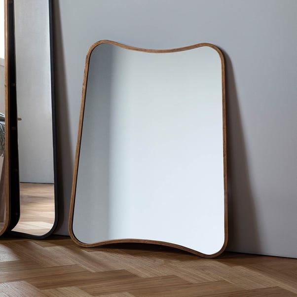 Kurva Gold 81x61cm Wall Mirror Gold