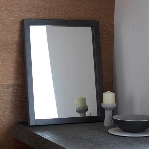 Garfield Grey 71x56cm Wall Mirror Grey