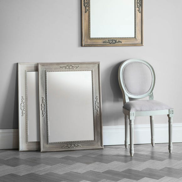 Ellesmere Limed Oak 94x68cm Wall Mirror Natural