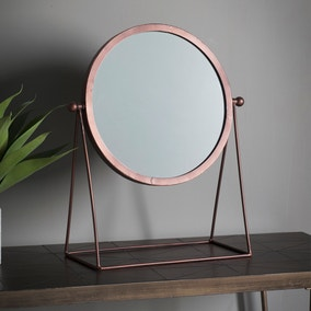 Webber Copper Dressing Table Mirror