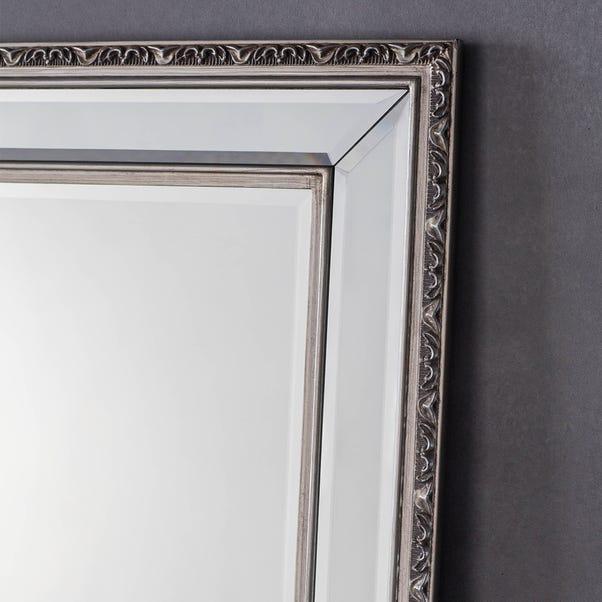 Marylebone Pewter 99x74cm Wall Mirror Grey