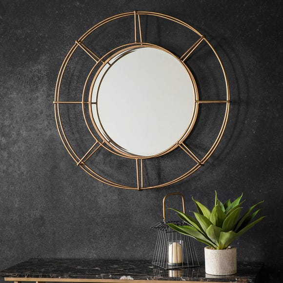Thorne Gold 82cm Wall Mirror Gold