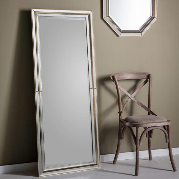 Vogue Gold 152x63cm Leaner Mirror Gold