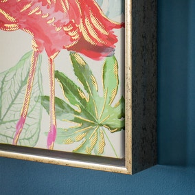 Flamingo Framed Print I